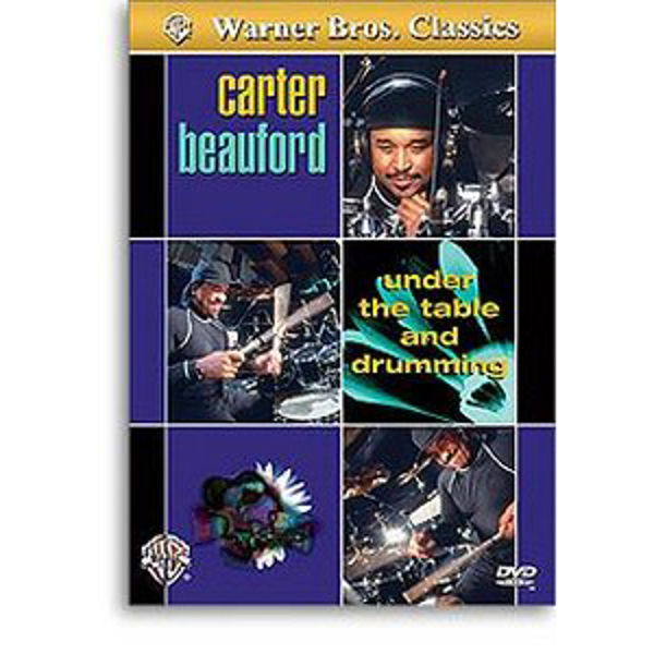 DVD Carter Beauford, Under The Table And Drumming