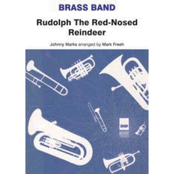 Rudolph the Red-nosed Reindeer, Brass Band sc/pts
