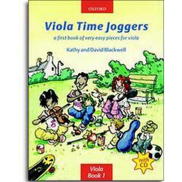 Viola Time Joggers + CD, Blackwell