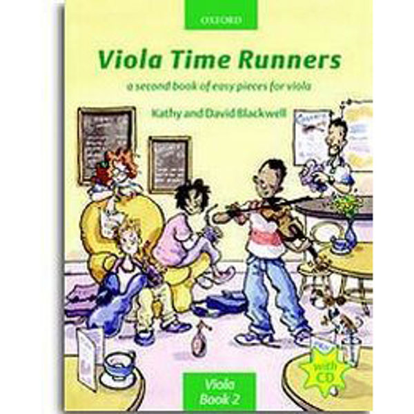 Viola Time Runners + CD, Blackwell
