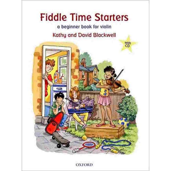 Fiddle Time Starters + CD, Kathy and David Blackwell