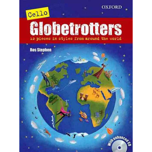 Cello Globetrotters + CD, Ros Stephens