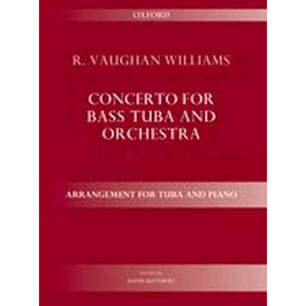 Concerto for Bass Tuba And Orchestra (Tuba and Piano) Vaughan Williams