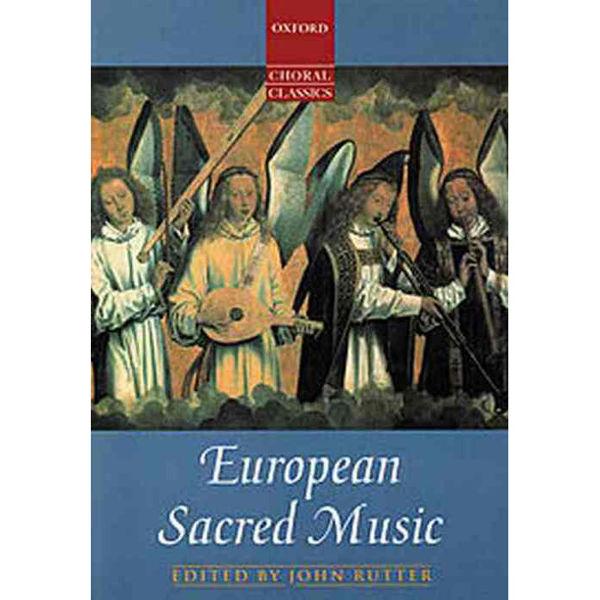 European Sacred Music, John Rutter - Vocal Score