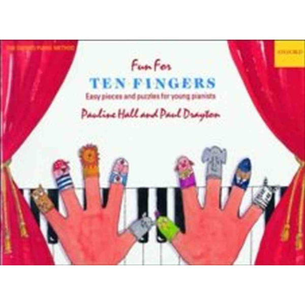 Fun for Ten Fingers, a third piano book. Pauline Hall