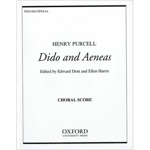 Dido and Aeneas, Henry Purcell. Chorus score