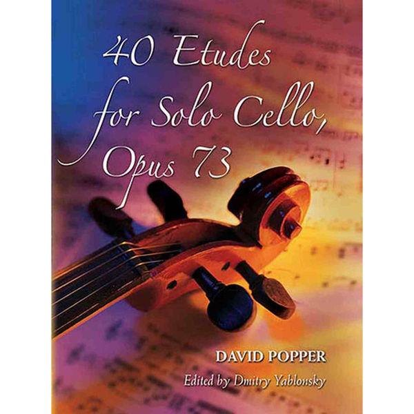 David Popper: 40 Etudes For Solo Cello Op.73