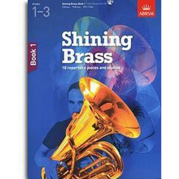 Shining Brass Book 1 - Part (Brass instrument) (Grades 1-3), m/CD