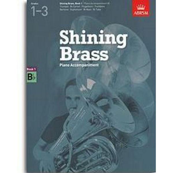 Shining Brass Book 1 - Bb Piano Accompaniments (Grades 1-3)