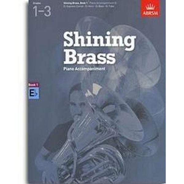 Shining Brass Book 1 - Eb Piano Accompaniments (Grades 1-3)