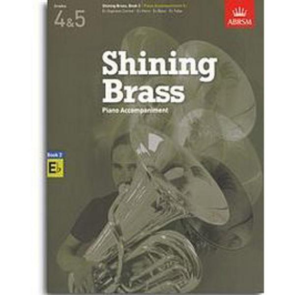 Shining Brass Book 2 - Eb Piano Accompaniments (Grades 4-5)