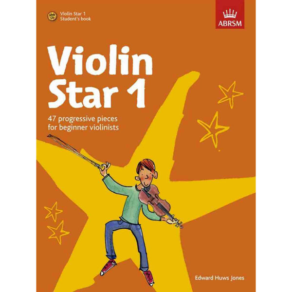 Violin Star 1, Student's Book with CD. Edward Huws Jones