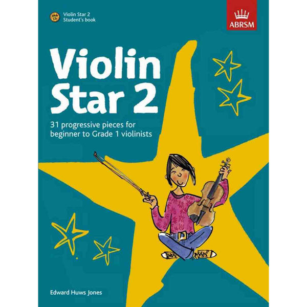 Violin Star 2, Student's Book with CD. Edward Huws Jones