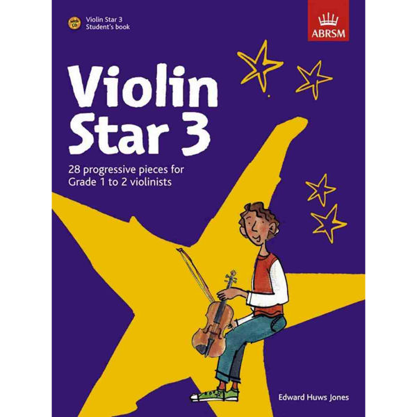 Violin Star 3, Student's Book with CD. Edward Huws Jones