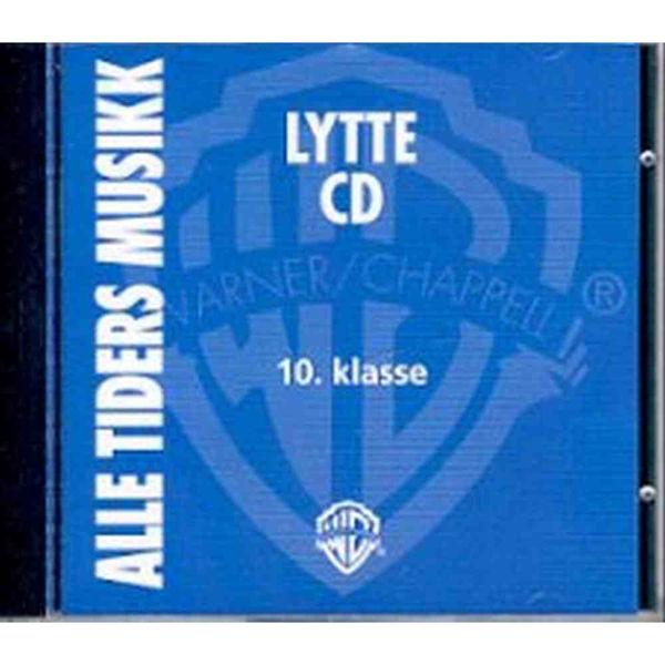 Alle tiders musikk 10 Lytte-CD - Sølvin Refvik