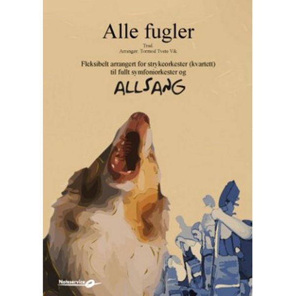 Alle fugler - Allsang og orkester arr: Tormod Tvete Vik