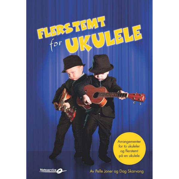 Flerstemt for ukulele - Pelle Joner og Dag Skarvang