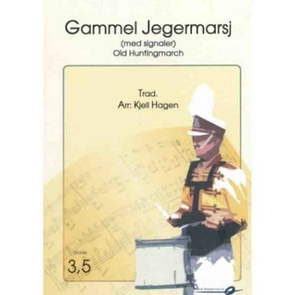 Gammel Jegermarsj CB Kjell Hagen Ny utg. m/signaler