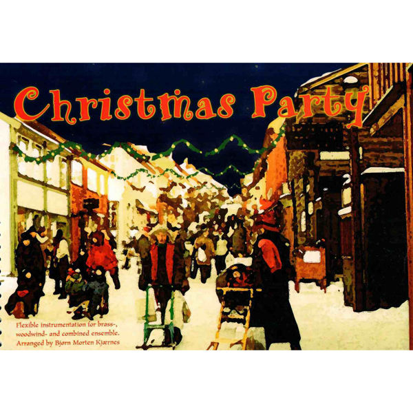 Christmas Party Baryton-sax (7) - Kjærnes