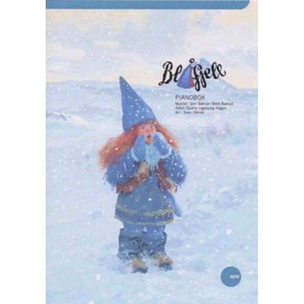 Jul i Blåfjell Pianobok - Piano/tekst/besifring, Bøhren/Åserud/Hagen arr Sven Ohrvik