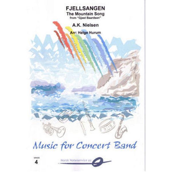 Fjellsangen - The Mountain Song CB4 arr Helge Hurum