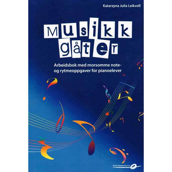 Musikkgåter - Arbeidsbok med morsomme note og rytmeoppgaver, Katarzyna Julia Leikvoll