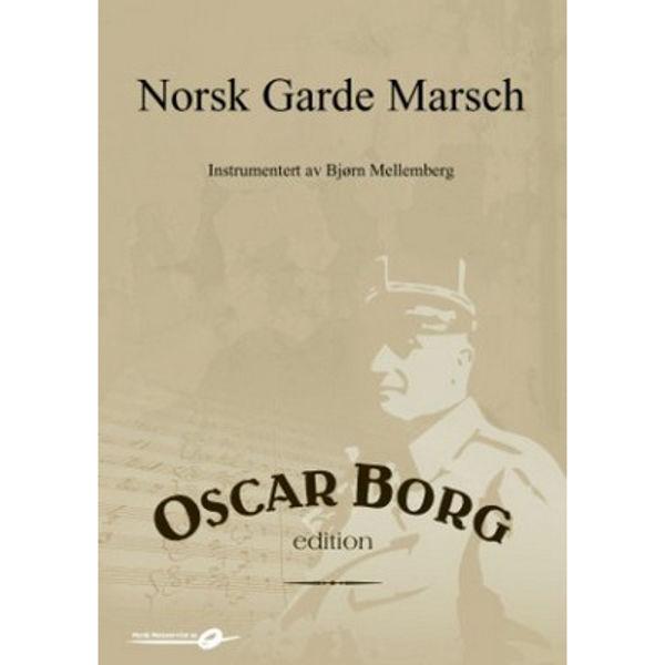 Norsk Gardemarsj MB3 - Oscar Borg-Mellemberg