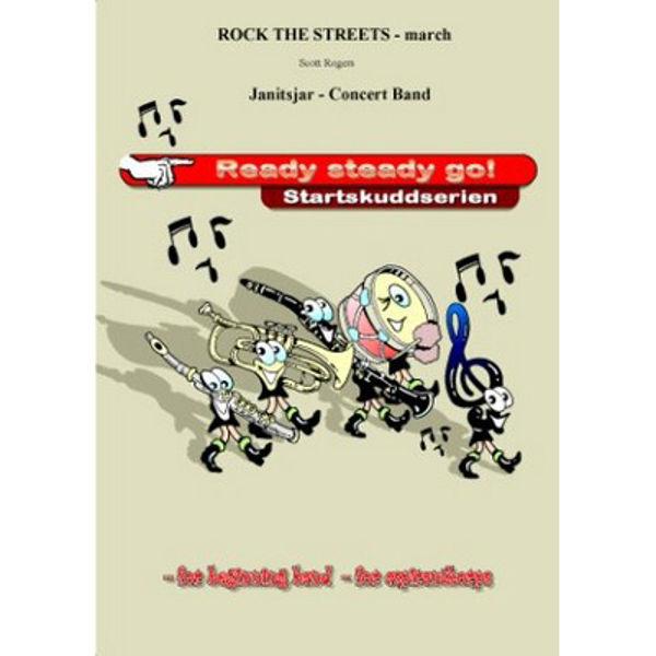 Rock the streets marsj - CB1,5 Scott Rogers