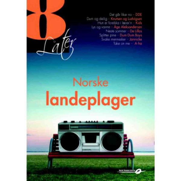 8 Låter - Norske landeplager - tekster, pianonoter og besif