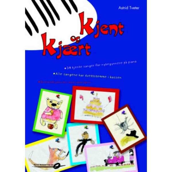 Kjent og kjært 1, Astrid Tveter. Piano