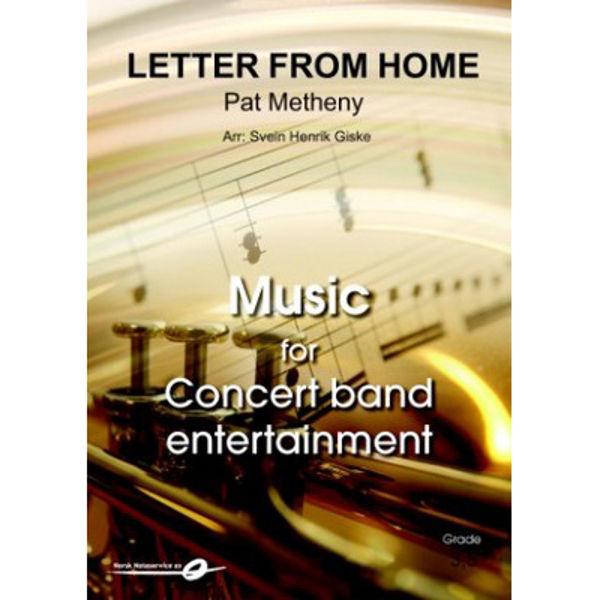 Letter from home CB Pat Metheny-Svein Henrik Giske