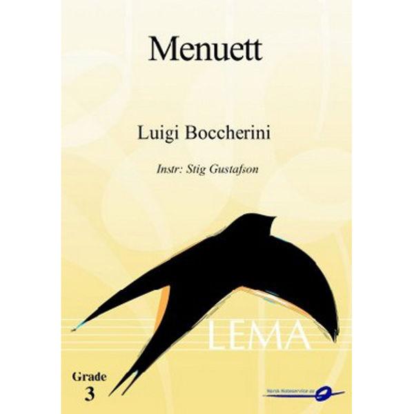 Menuett CB3 Luigi Boccherini - Stig Gustafson