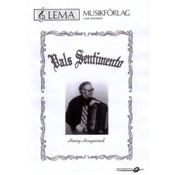 Vals Sentimento Dragspels solo Musikk Henry Haagenrud