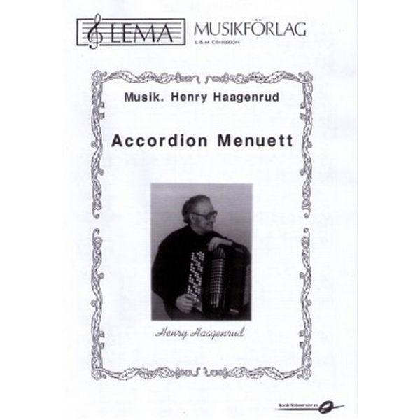 Accordion menuett dragspels solo Musikk Henry Haagenrud