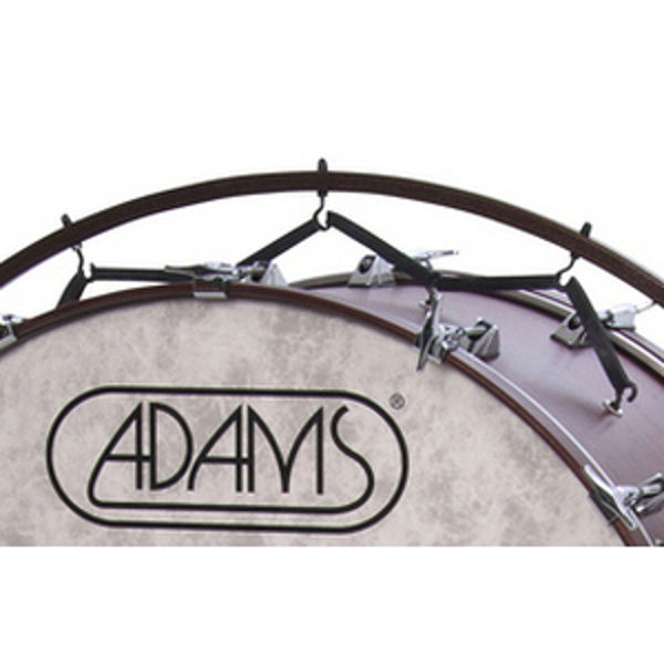 Adams Stortromme-Suspension Bands 250 For Free Suspended Stand, 19 Pcs Rubber