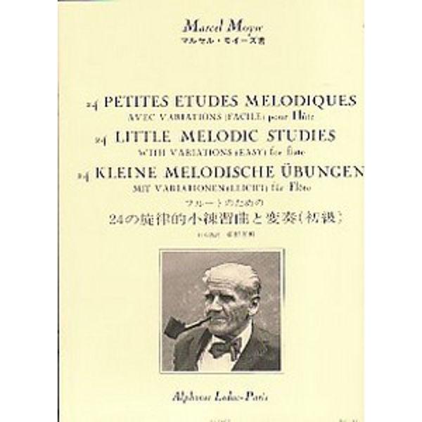 24 Little Melodic Studies for Flute - Marcel Moyse