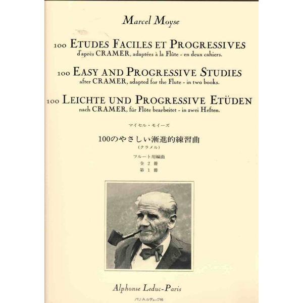 100 easy and progressice studies - Marcel Moyse. Flute