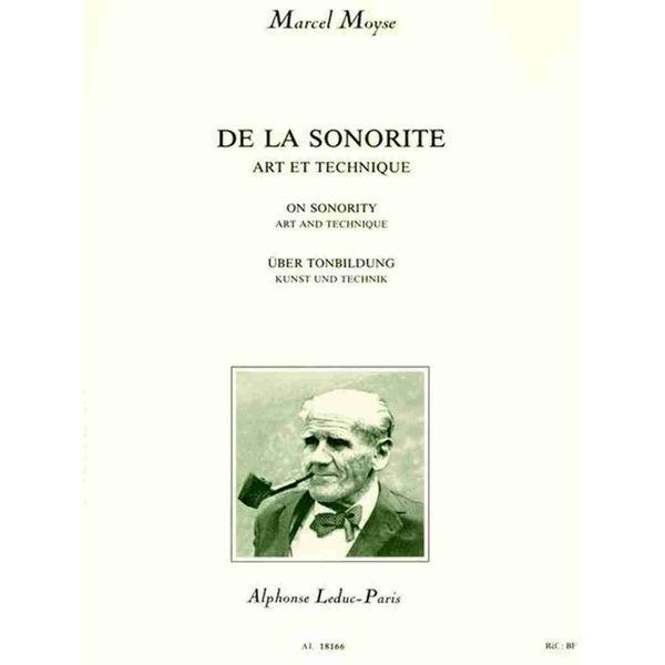 Moyse: De La Sonorite Art Et Technique Flute Traversière