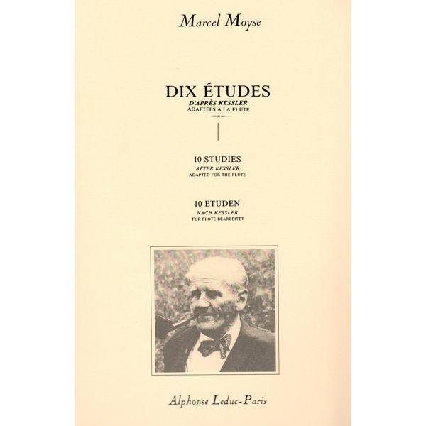 10 Studies for Flute After Kessler / Dix Etudes DApres Kessler, Marcel Moyse