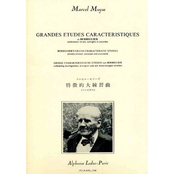 Grandes Etudes Caracteristiques for flute - Moyse