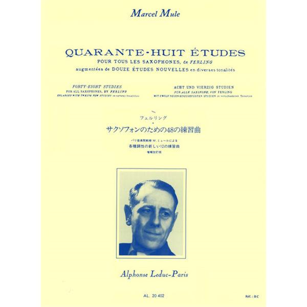 Marcel Mule: Quarante-Huit Études De Ferling (Saxophone)