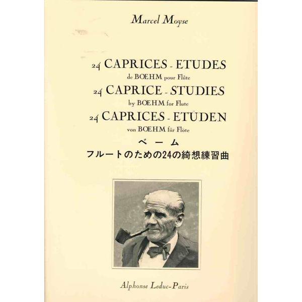 24 Caprices Etudes op 26 Böhm, Marcel Moyse. Flute