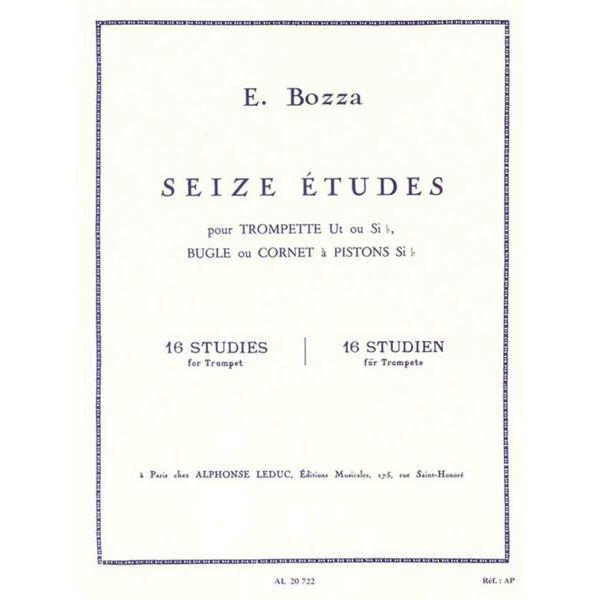16 Etudes Trompette, Eugene Bozza