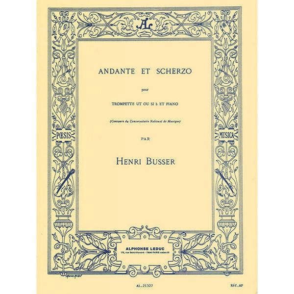 Andante et scherzo - Henri Busser. Trompet og piano