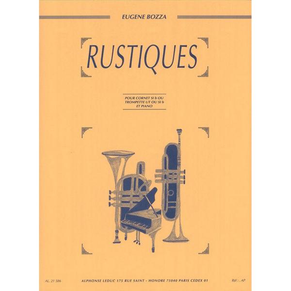 Rustiques. Eugene Bozza.Trumpet Bb and Piano