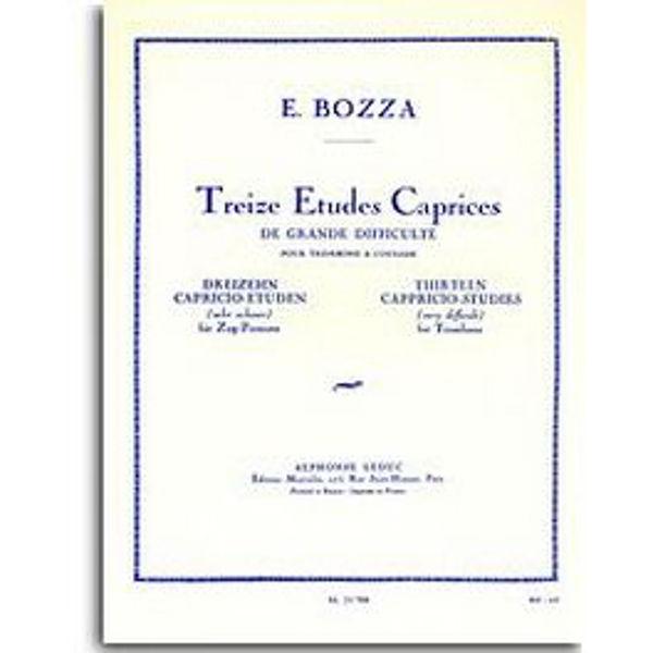 13 Cappricio-Studies (Very Difficult) for Trombone - Bozza