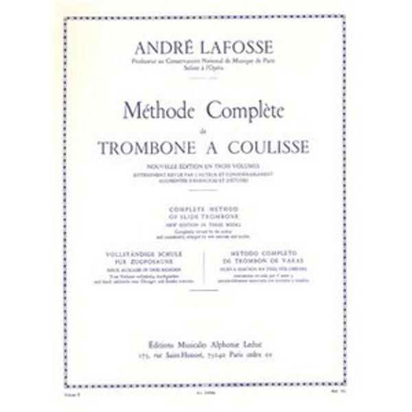 Methode Complete de Trombone A Coulisse - Volum 2 - Lafosse