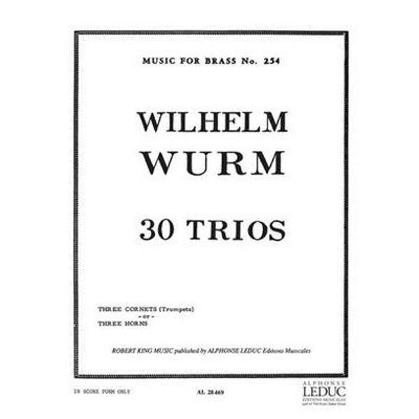 30 Trios, Trumpets. Lillya/Wsurm
