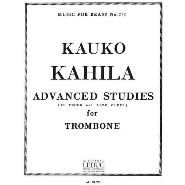 Advanced Studies, Kauko Kahila, Trombone