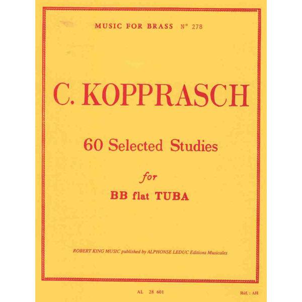 Kopprasch 60 Selected Studies for Tuba